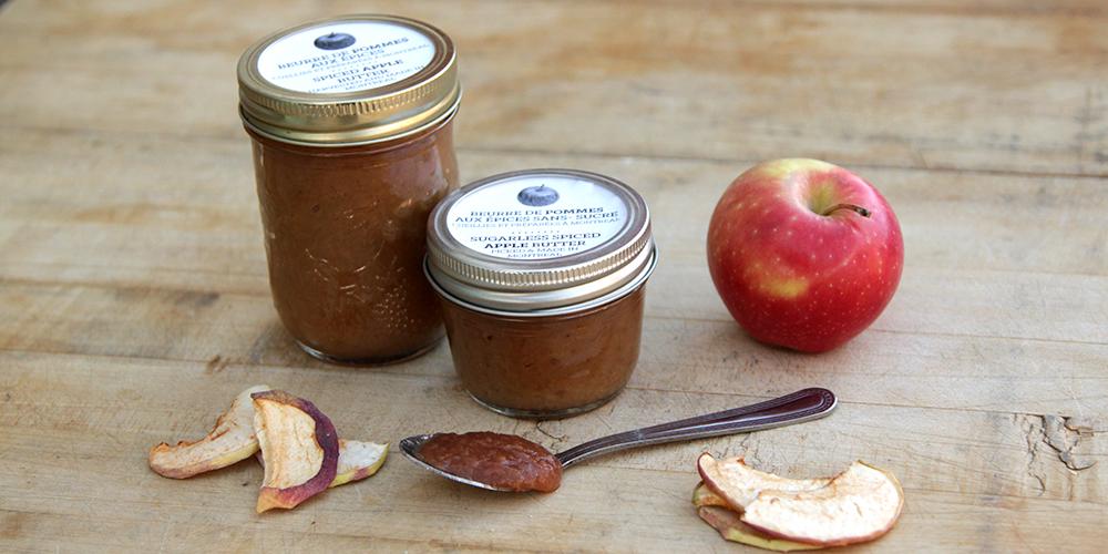 beurre de pommes conserve du mois santropol roulant. Black Bedroom Furniture Sets. Home Design Ideas
